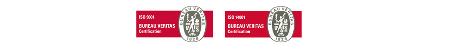 ISO 9001 - ISO 14001 - Certifications Veritas